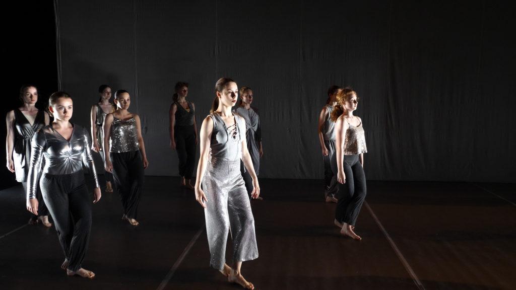 Tanečníčky Banskobystrického a Hrádockého konzervatória